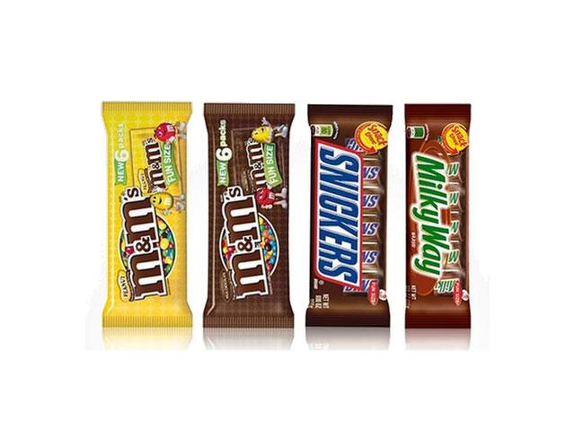 Free FREE Snickers, Twix, M&M's, Or Milky Way!