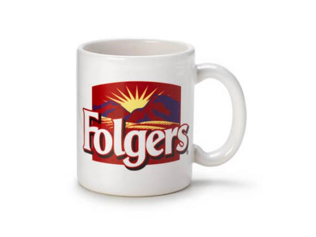 Free Folgers Coffee Mug Or Folgers Coffee!
