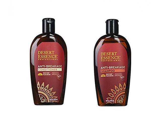 Free Desert Essence Anti-Breakage Shampoo And Conditioner!