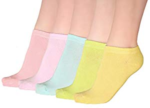 Free Comfy women's solid color ankle socks…