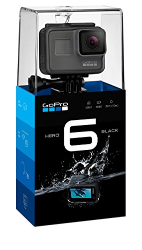 GoPro HERO6 Black 4K Action Camera (Certified Refurbished)