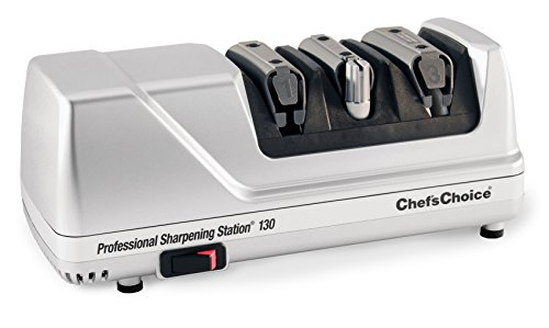Chef'sChoice 130 Professional Electric Knife Sharpening Station for Straight