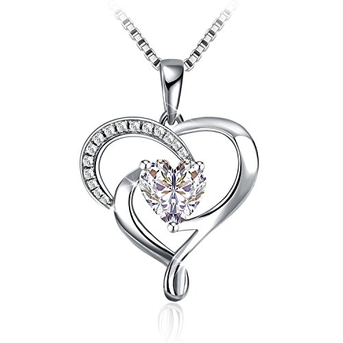 Necklace, Sterling Silver Heart Necklace J.Rosée Fine Jewelry for