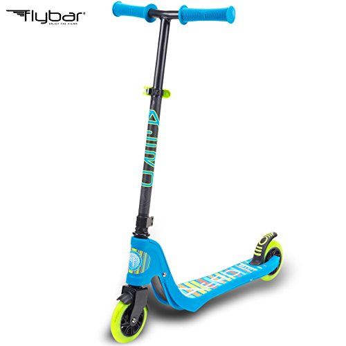 Flybar Aero 2-Wheel Kick Scooter For Kids With Grip