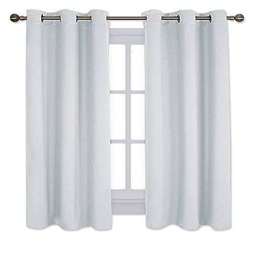 NICETOWN Window Treatment Thermal Insulated Grommet Room Darkening Curtains