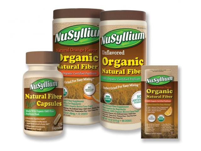 Free NuSyllium Organic Natural Fiber Sample!
