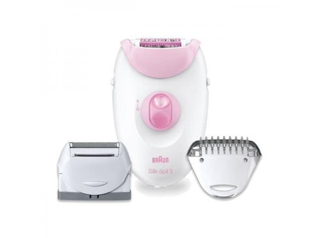 Free  Silk-épil 3 Leg And Body Epilator By Braun!