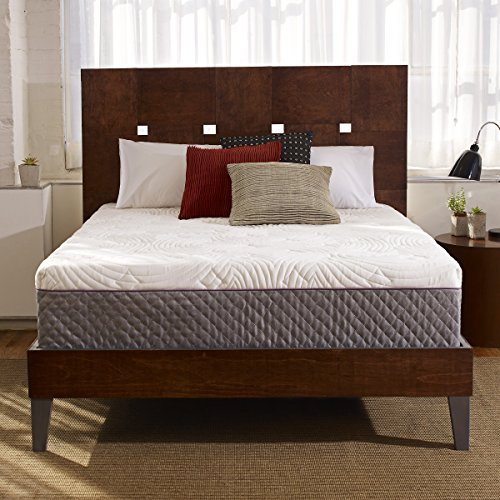Sleep Innovations Shiloh 12-inch Memory Foam Mattress with Quilted