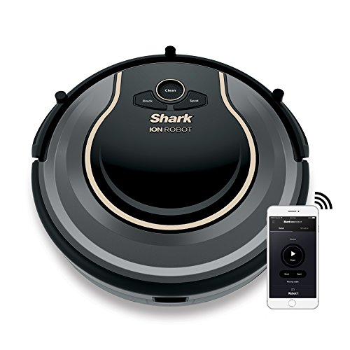Shark ION Robot Vacuum WIFI-Connected, Voice Control Dual-Action Robotic