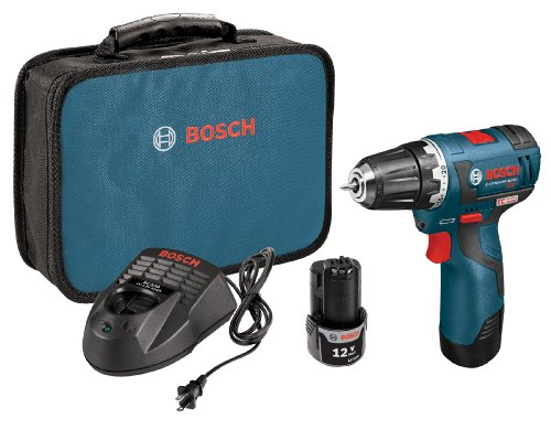 Bosch 12-Volt Max Brushless 3/8-Inch Drill/Driver Kit PS32-02 with