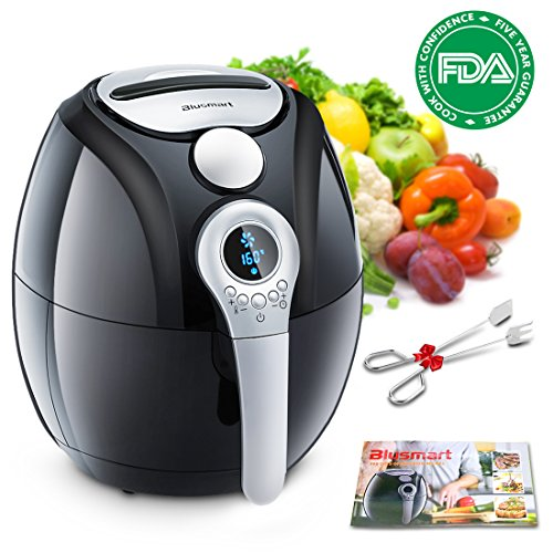 Electric Air Fryer, Blusmart Power Air Frying Technology with
