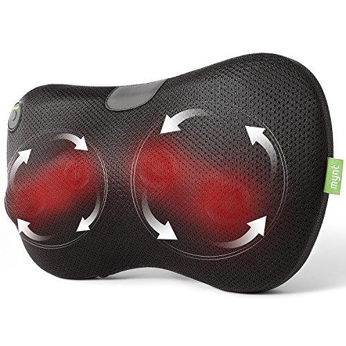 Mynt Shiatsu Massage Pillow with Heat – for Neck