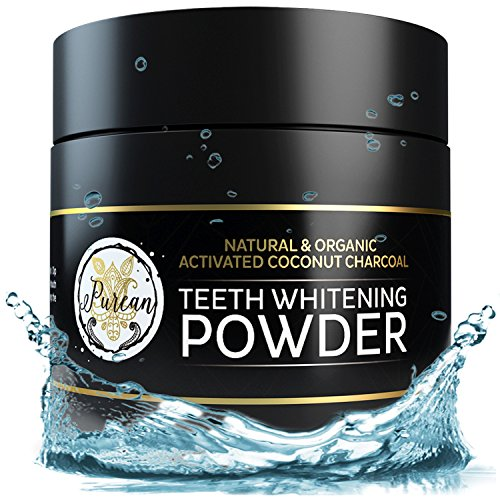 Teeth Whitening Activated Coconut Charcoal Powder – 2oz –