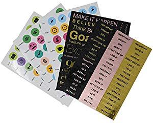 90X Goal Planner - Sticker Pack w/Motivational...