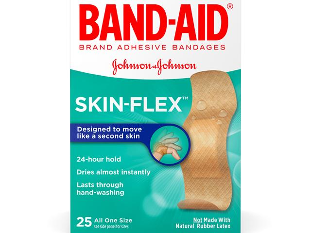 Free Box Of Band-Aid Skin Flex Bandages!