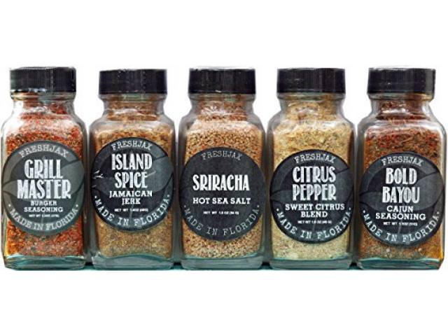Free Set of 5 FreshJax Gourmet Handcrafted Spices!