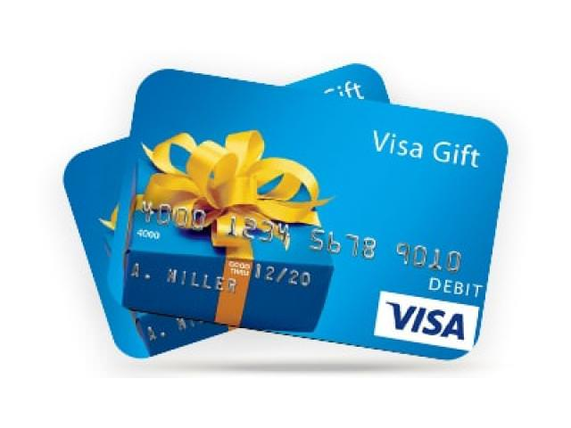 Free $3 VISA GIft Card! (Every Month)