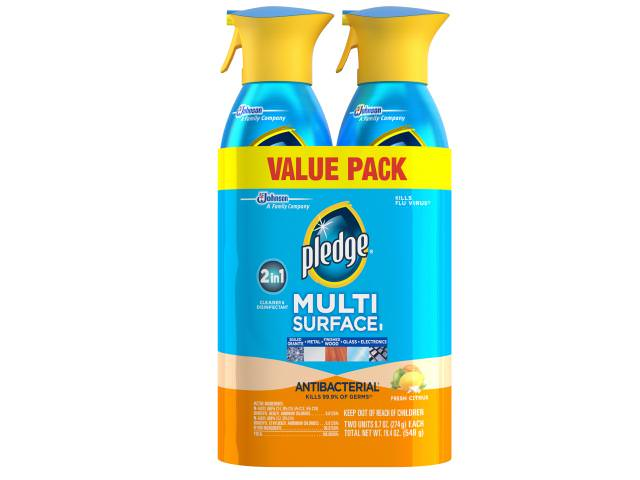Free Pledge Cleaner (Pack of 2)!