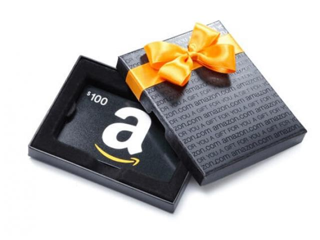 Free $100 Amazon Gift Cards!