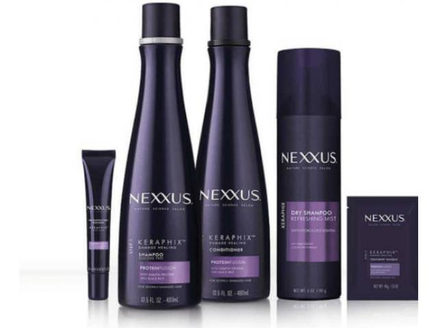Free Nexxus KERAPHIX Shampoo + Conditioner Sample!