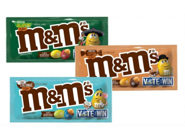 Free Limited Edition M&M'S!
