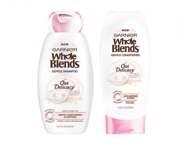 Free Garnier Whole Blends Oat Delicacy Shampoo & Conditioner!