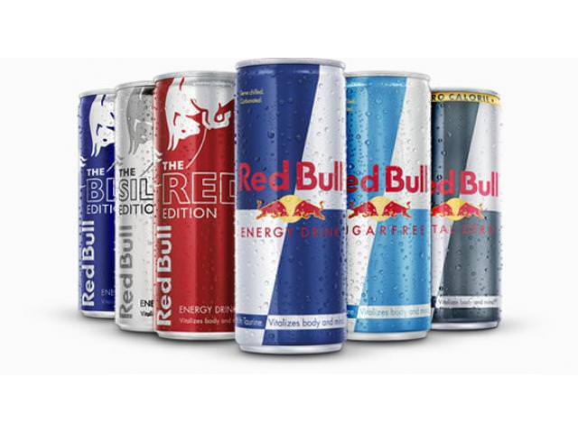 Free Can Of Red Bull!