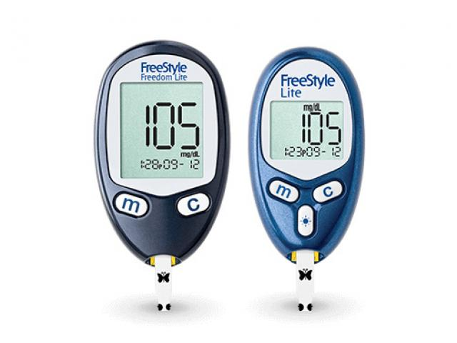 Free FreeStyle Freedom Blood Glucose Meter!