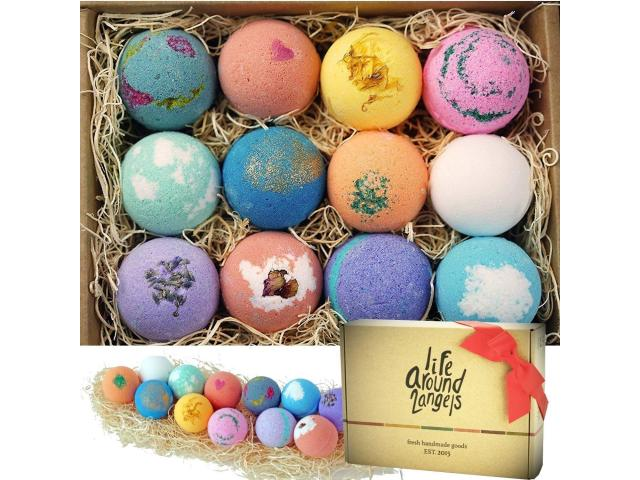 Free Bath Bombs Gift Set!