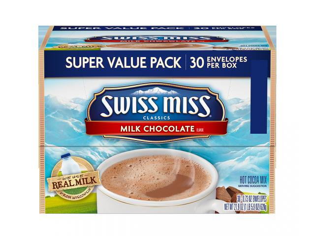Free Swiss Miss Milk Chocolate Hot Cocoa Mix, 30-Count!