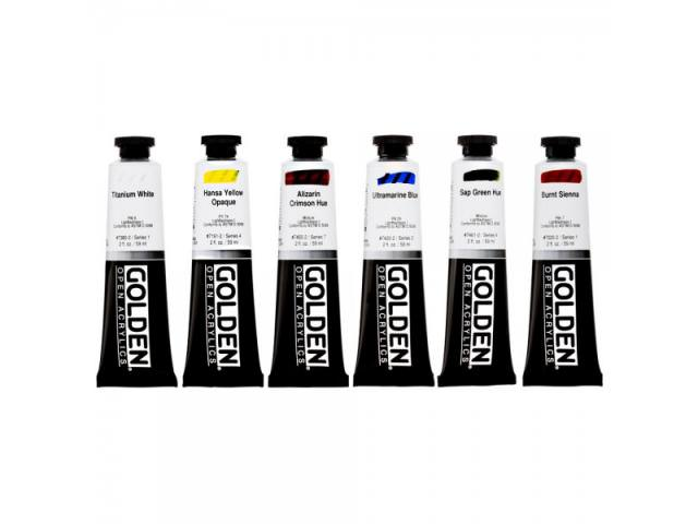 Free Golden Acrylics Paints!