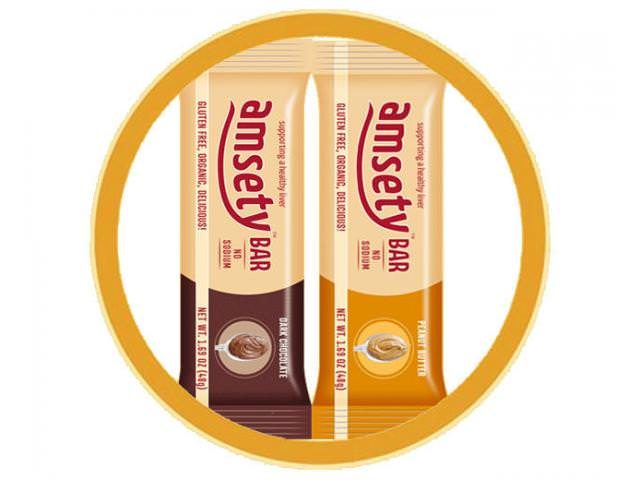 Get 2 Free Amsety Nutrition Bars Samples!