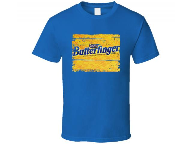 Free T-Shirt By Butterfinger!