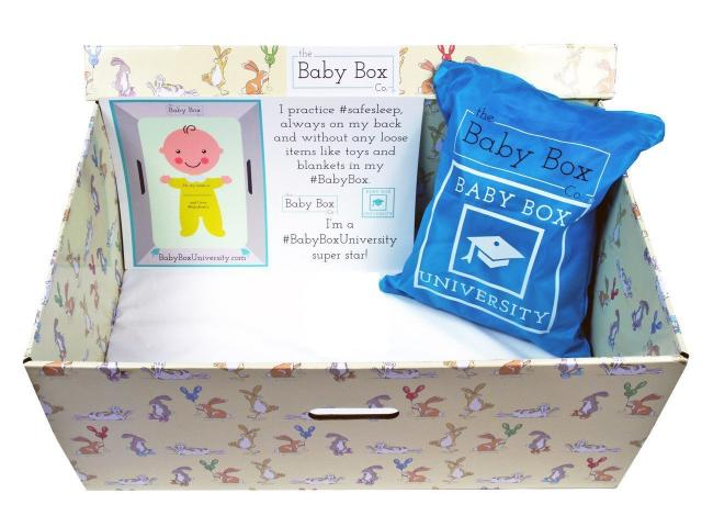 Free Baby Box From The Baby Box University!