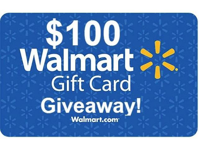 Free $100 Gift Card From Walmart!