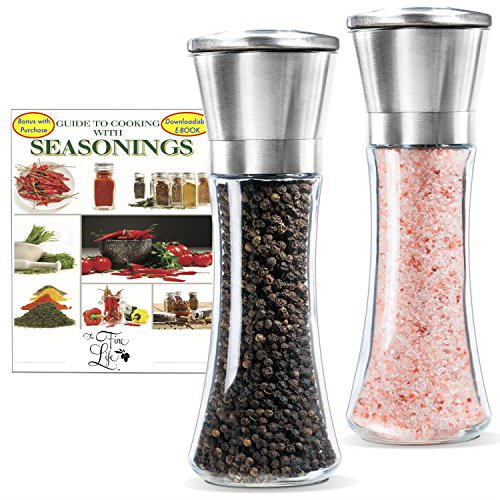 Free The Fine Life Salt And Pepper Spice Grinders!