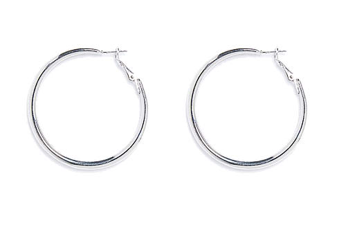 Free Rounded Hoop Earrings!