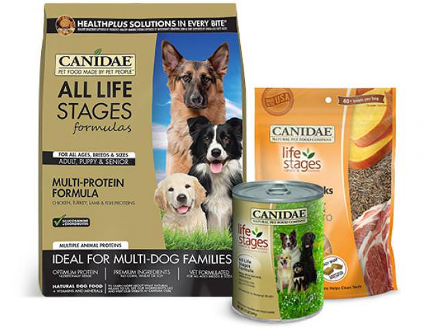 Get 2 Free CANIDAE Dog Food!