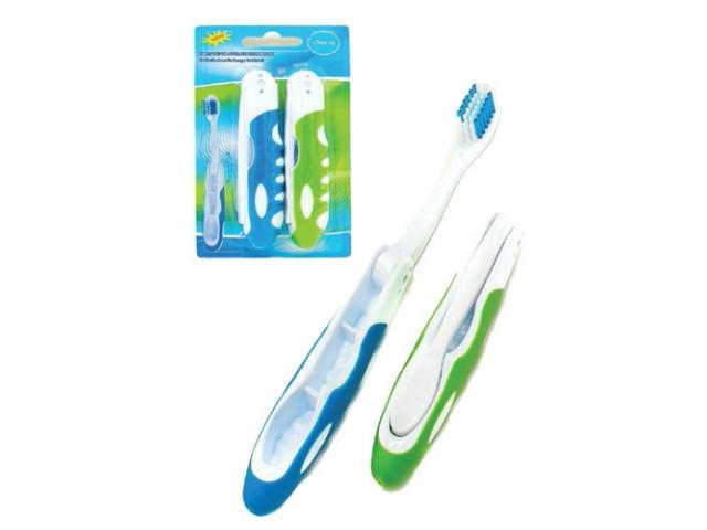 Free Foldable Toothbrush!