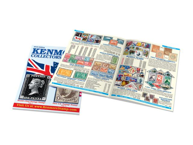 Free Stamp Catalog + $5 Gift Certificate By Kenmore!