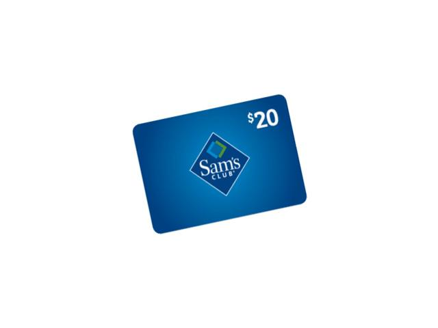 $20 Gift Card From Sam's Club!