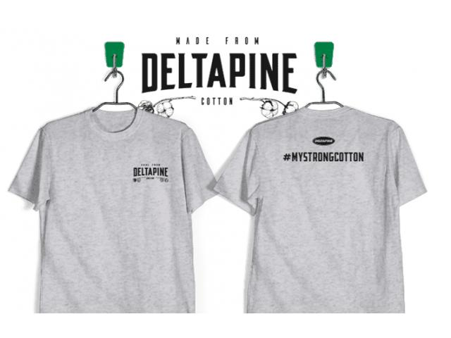 Free Cotton T-Shirt By Deltapine!