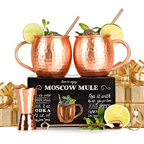 Free Set of 2 Copper Mugs!