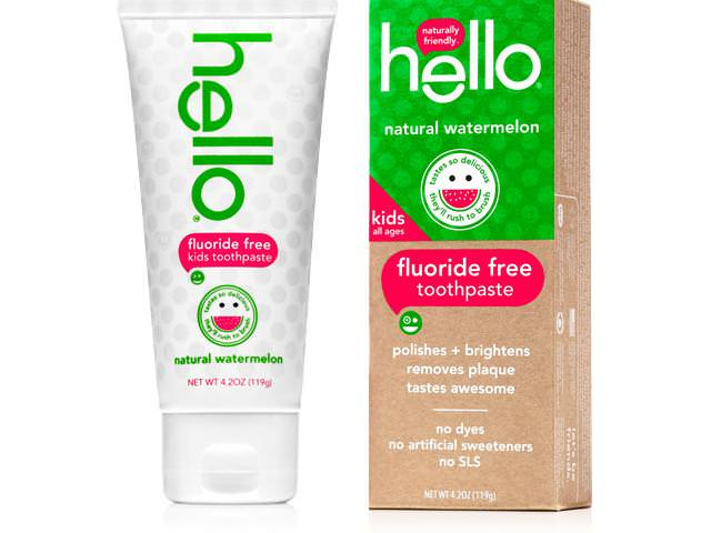 Free Natural Watermelon Toothpaste!