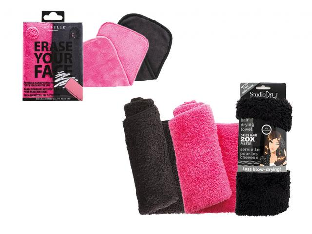 Free Turban Hair Towel Or Makeup Removing Cloth!