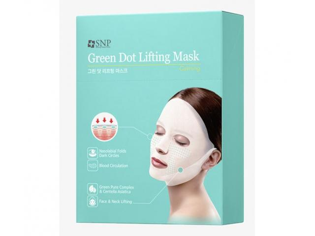 Free PAck Of SNP Green Dot Lifting Mask!