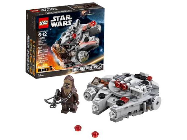 Free LEGO Star Wars Millennium Falcon Microfighter!