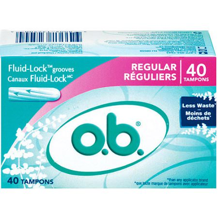 Free Box of OB Tampons, 40ct!