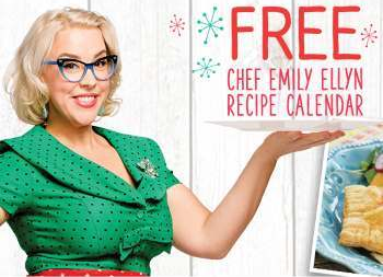 Free Emily Ellyn 2019 Recipe Calendar!