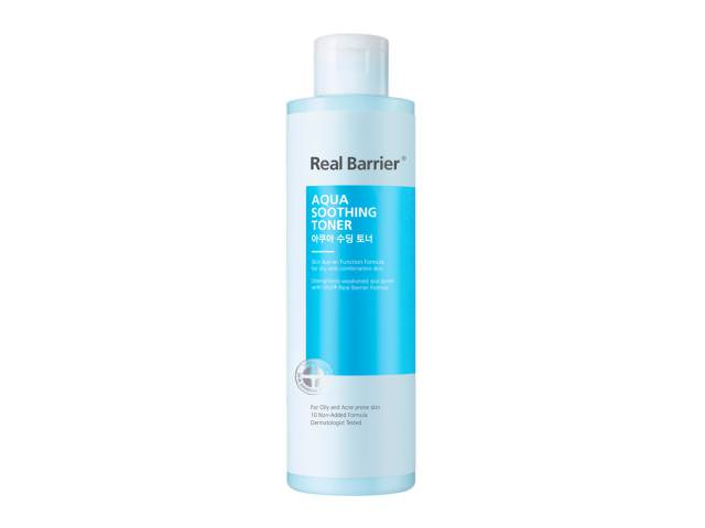 Free Real Barrier Aqua Soothing Toner!